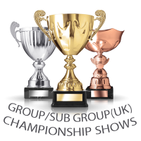 GROUP/SUB GROUP (UK) CHAMPIONSHIP SHOWS