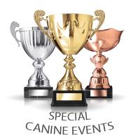 SPECIAL CANINE EVENTS